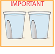 Step 4. You must drink two (2) more 16-ounce containers of water over the next 1 hour. Note:You must finish drinking the final glass of water at least 2 hours, or as directed, before your procedure.